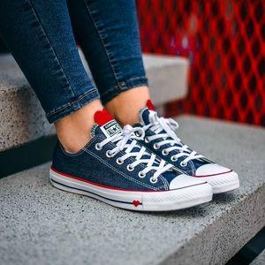 Converse Denim Love low top shoes
